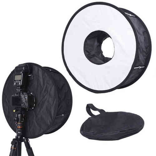 Speedlite rengas-salama softbox 45 cm